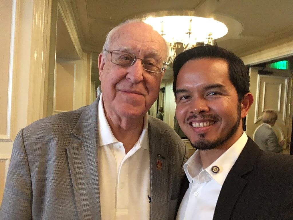 Rotary International President John Germ Welcomed By Coronado Rotary Club